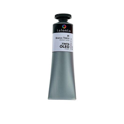 Tinta Óleo 37ml - 01 Branco Titânio