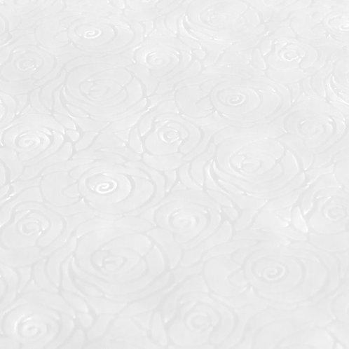 Papel Velutto - Rosas Branco