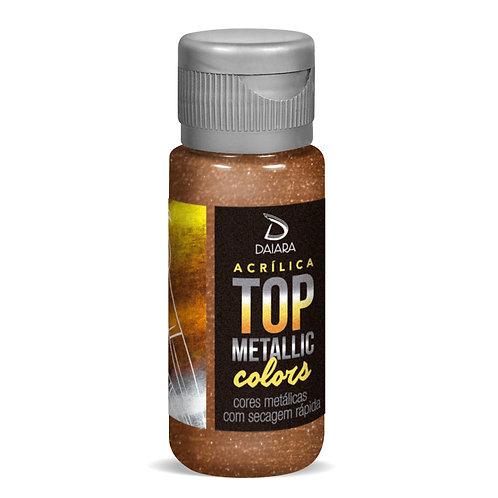 Tinta Acrílica Top Metallic Colors 60ml - 229 Marrom