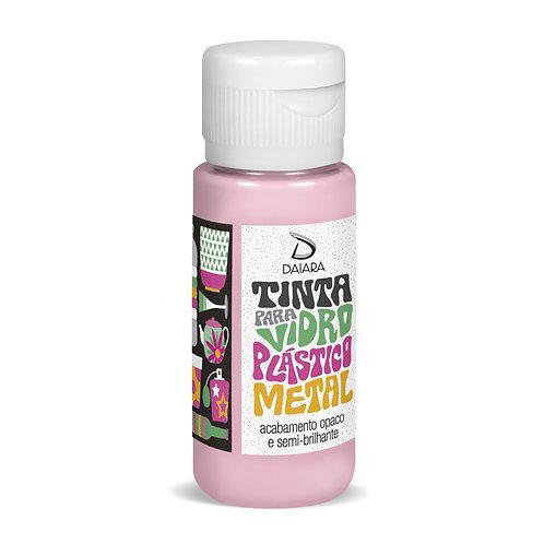 Tinta para Vidro, Plástico e Metal 60ml - 07 Rosa Claro