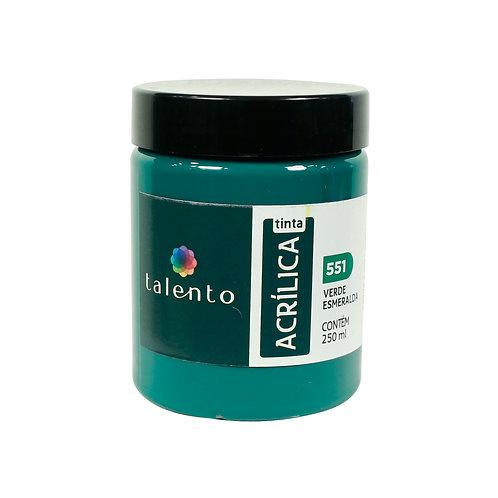 Tinta P/Tela 551 - Verde Esmeralda 250ml