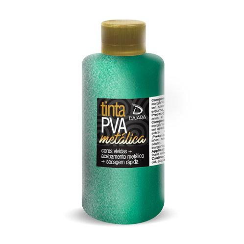 Tinta PVA Metálica 250ml - 617 Verde Turquesa