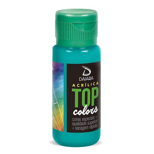 Tinta Acrílica Top Colors 60ml - 65 Azul Caribe