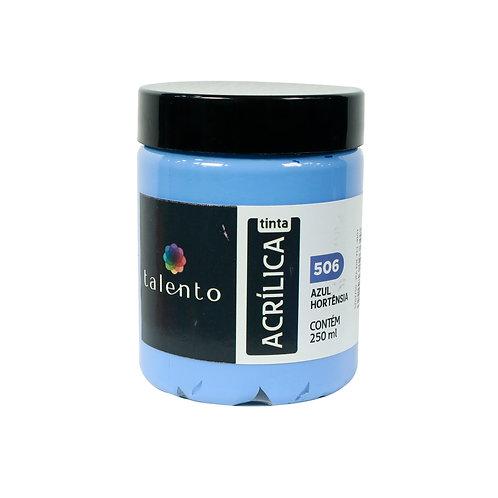 Tinta P/Tela 506 - Azul Hortênsia 250ml