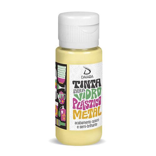 Tinta para Vidro, Plástico e Metal 60ml - 02 Amarelo Claro