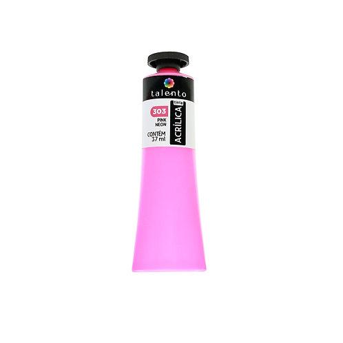 Tinta P/Tela Neon 303 - Pink 37ml