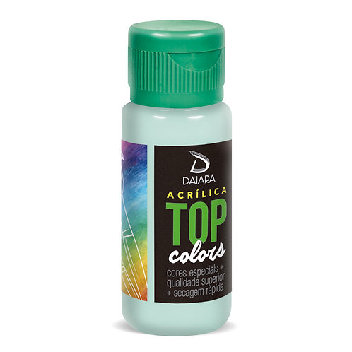 Tinta Acrílica Top Colors 60ml - 68 Verde Soft