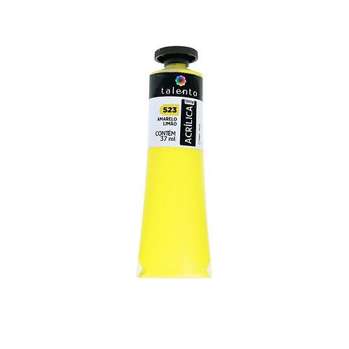 Tinta P/Tela 523 - Amarelo Limão  37ml