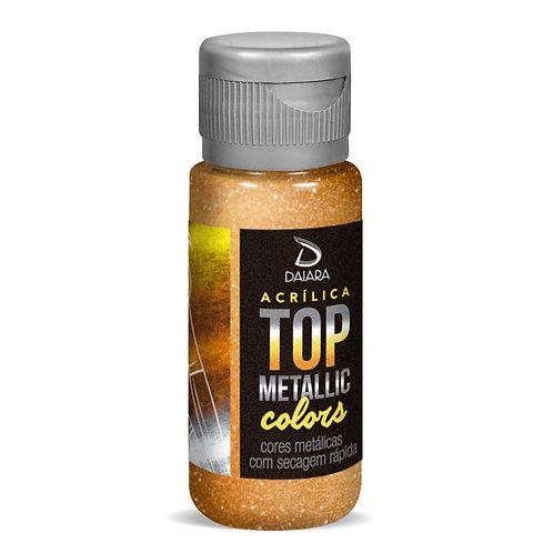 Tinta Acrílica Top Metallic Colors 60ml/250ml - 241 Ouro Ducado