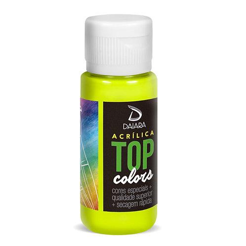 Tinta Acrílica Top Neon Colors 60ml - 300 Amarelo