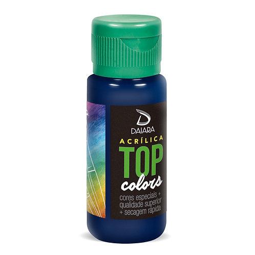Tinta Acrílica Top Colors 60ml - 53 Azul Escuro