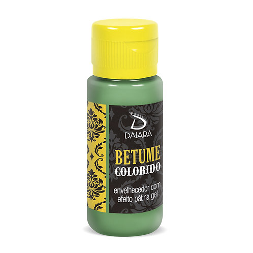 Betume Colorido 60ml - 10 Verde Zinabre