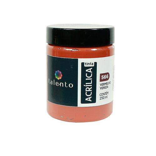 Tinta P/Tela 566 - Vermelho Veneza 250ml