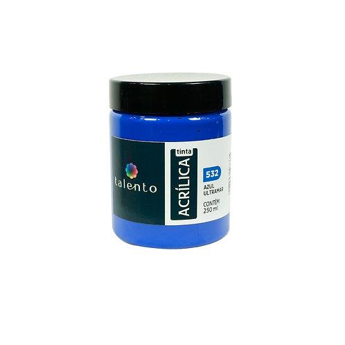 Tinta P/Tela 532 - Az. Ultramar  250ml