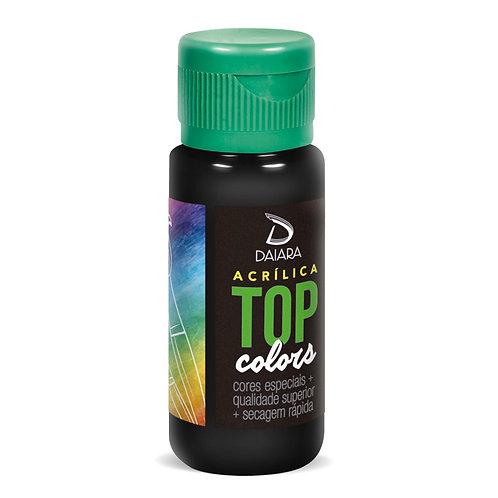 Tinta Acrílica Top Colors 60ml - 98 Preto