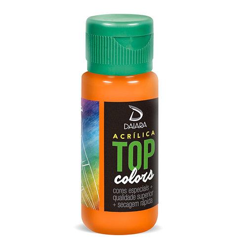 Tinta Acrílica Top Colors 60ml - 25 Laranja