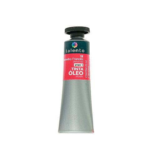 Tinta Óleo 20ml - 18 Vermelho Frânces