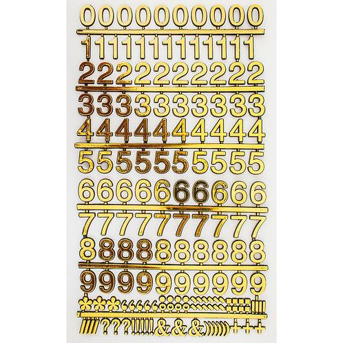 6715 - Adesivo Números 25 mm