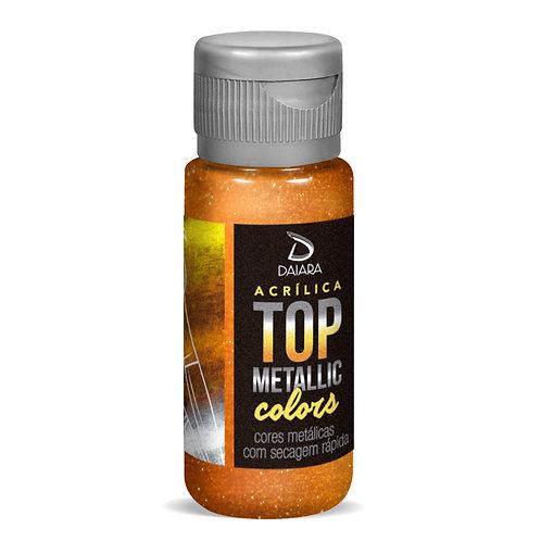 Tinta Acrílica Top Metallic Colors 60ml - 245 Cobre Cigano