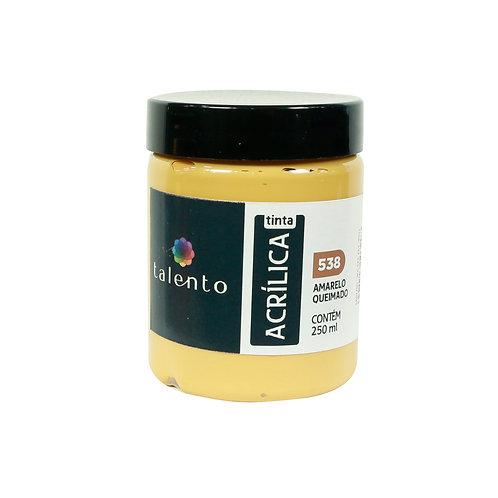 Tinta P/Tela 538 - Amarelo Queimado 250ml