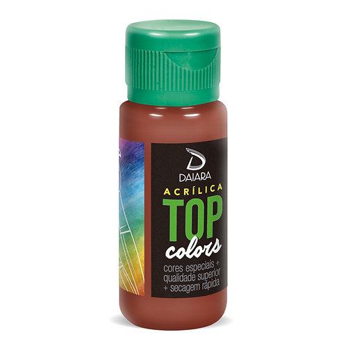 Tinta Acrílica Top Colors 60ml - 90 Goiaba