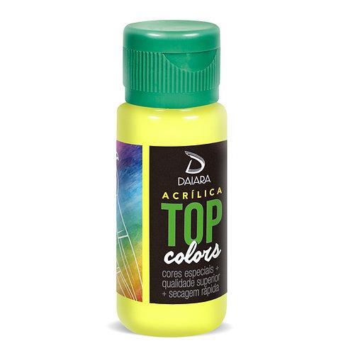 Tinta Acrílica Top Colors 60ml - 17 Amarelo Limão