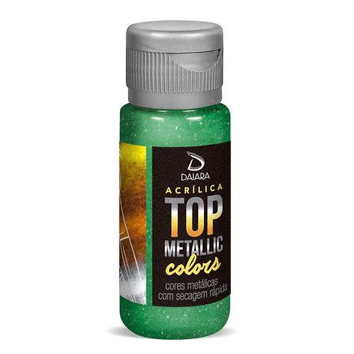 Tinta Acrílica Top Metallic Colors 60ml - 226 Verde Capim