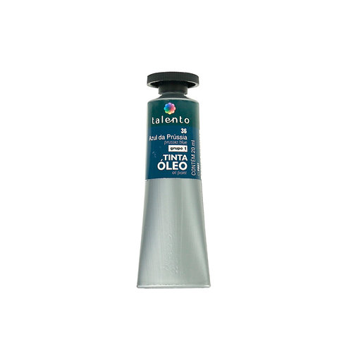 Tinta Óleo 20ml - 36 Azul da Prússia