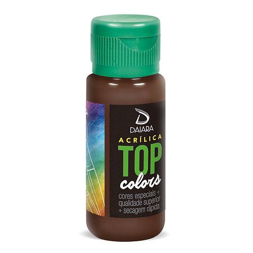 Tinta Acrílica Top Colors 60ml - 89 Pinhão