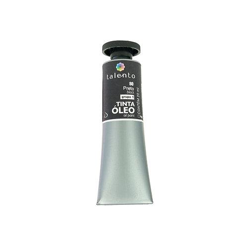 Tinta Óleo 20ml - 80 Preto