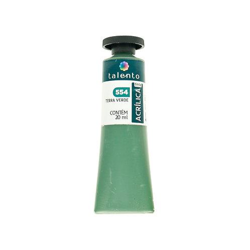 Tinta P/Tela 554 - Terra Verde 20ml