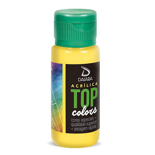 Tinta Acrílica Top Colors 60ml - 16 Amarelo Luz