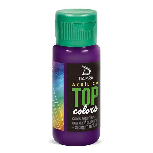 Tinta Acrílica Top Colors 60ml - 52 Violeta