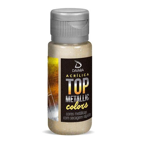 Tinta Acrílica Top Metallic Colors 60m - 233 Champanhe