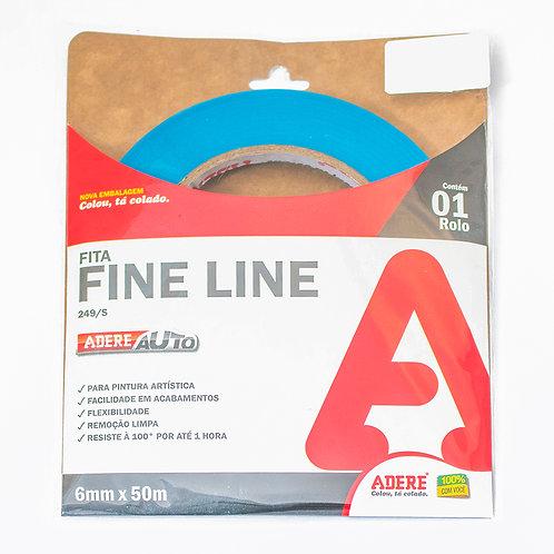 Fita Fine Line Adere 6 mm x 50m