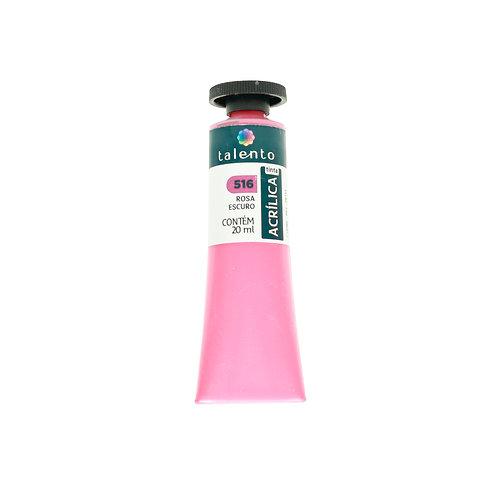 Tinta P/Tela 516 - Rosa Escuro 20ml