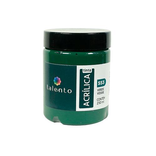 Tinta P/Tela 553 - Verde Vessie 250ml