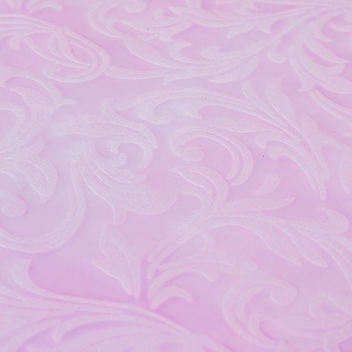 Papel Velutto - Arabescos Rosa