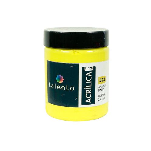 Tinta P/Tela 523 - Amarelo Limão  250ml