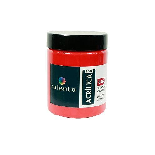 Tinta P/Tela 545 - Verm. Carmim 250ml