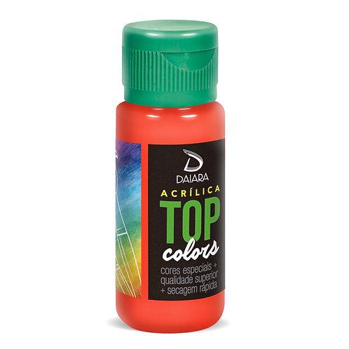 Tinta Acrílica Top Colors 60ml - 27 Vermelho Claro