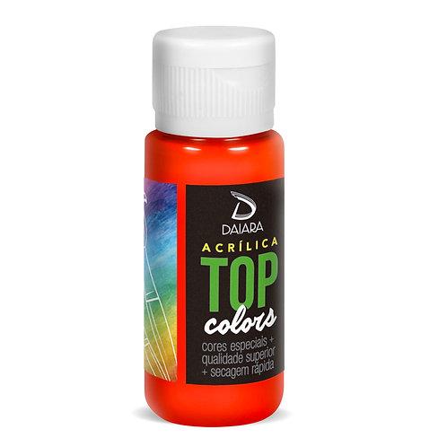 Tinta Acrílica Top Neon Colors 60ml - 302 Vermelho