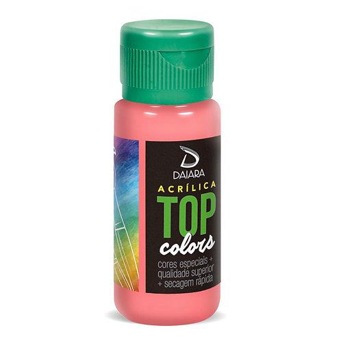 Tinta Acrílica Top Colors 60ml - 42 Rosa Antigo