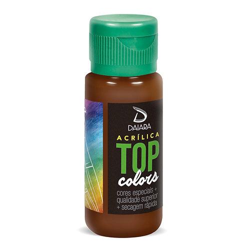 Tinta Acrílica Top Colors 60ml - 87 Chocolate