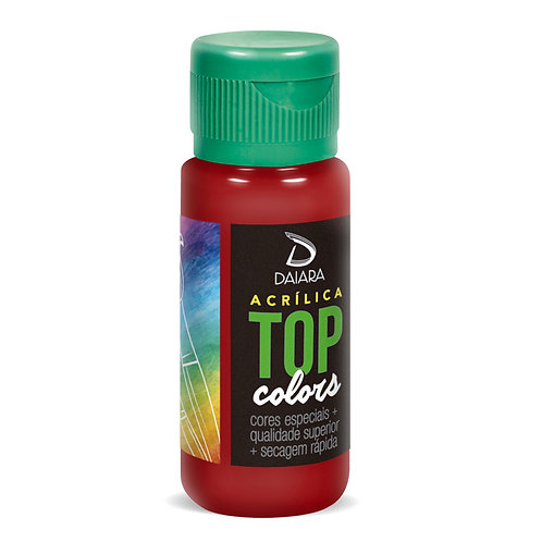 Tinta Acrílica Top Colors 60ml - 34 Vinho
