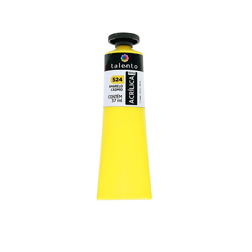 Tinta P/Tela 524 - Amarelo Cadmio  37ml