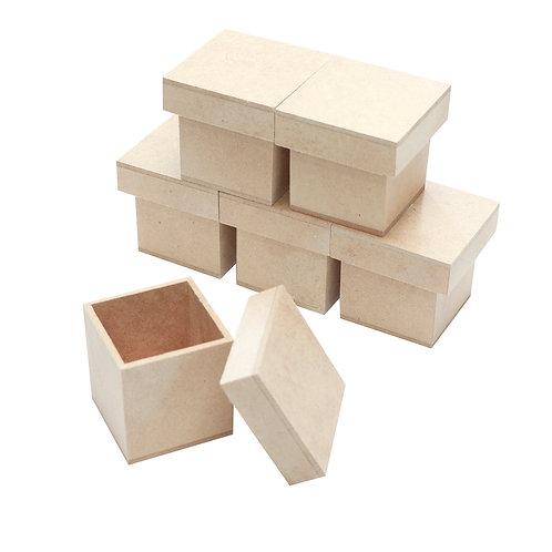 Kit Caixa MDF 5x5x5 cm c/6un