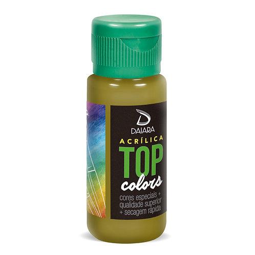 Tinta Acrílica Top Colors 60ml - 83 Azeitona