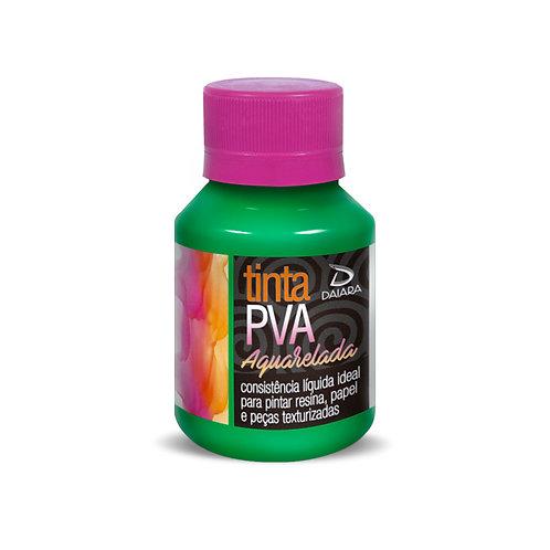 Tinta PVA Aquarelada 80ml - Verde Esmeralda 721