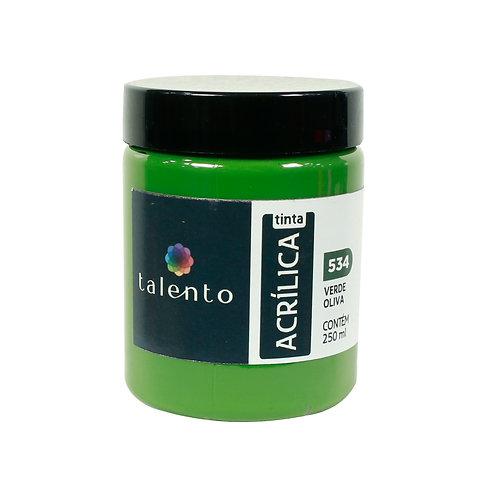 Tinta P/Tela 534 - Verde Oliva 250ml
